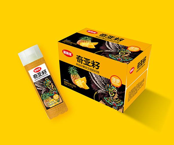 420ml高瓶奇亚籽菠萝