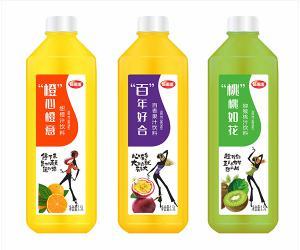 新雨瑞1.5L新款瓶子果汁