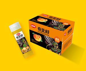 420ml高瓶奇亚籽黄桃